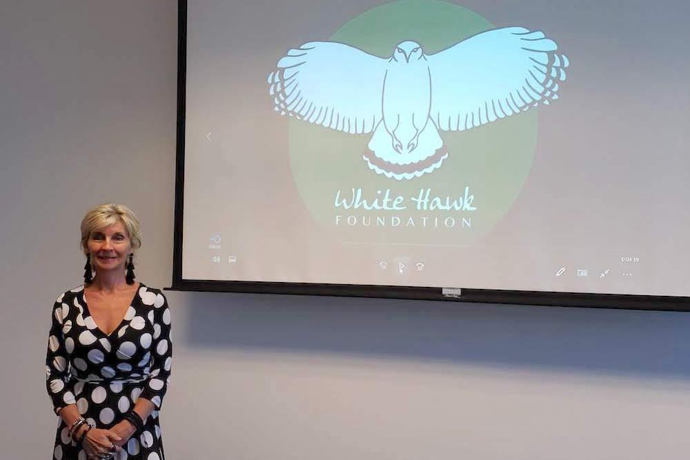 lana wedmore white hawk la
